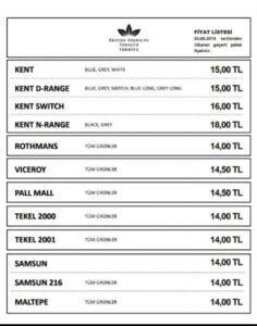 british-american-tobacco-fiyat-listesi-2020